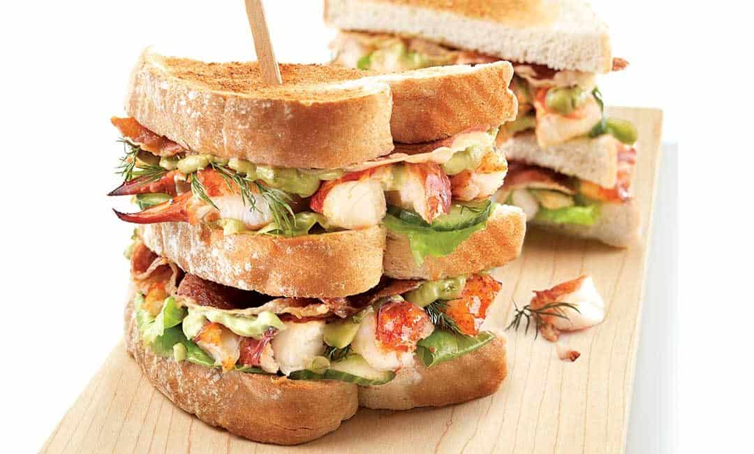 Ultimate Lobster Club Sandwich