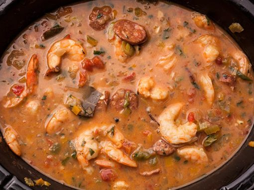 Slow Cooker Shrimp Gumbo